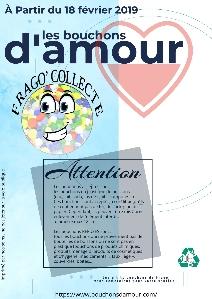 Le collège Fragonard collecte les bouchons pour l'association les bouchons d'amour